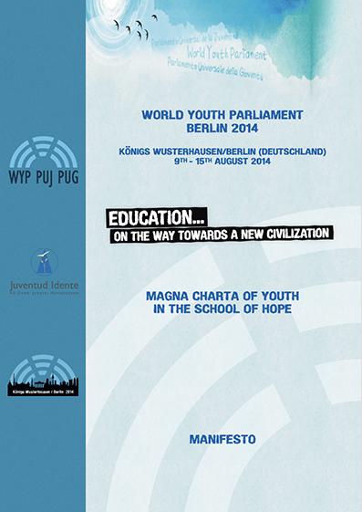 Education Manifesto 2014